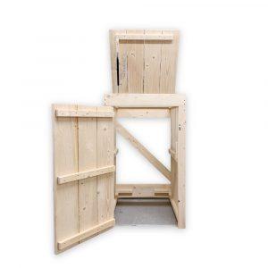kliko ombouw de helling 1 klep en deur open