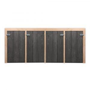 kliko-ombouw-deluxe-4-zwarte-deuren