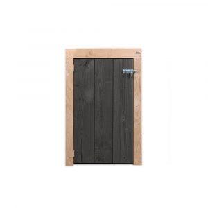 kliko-ombouw-douglas-1-vooraanzicht-zwarte-deur