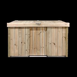 Kliko ombouw van geïmpregneerd hout