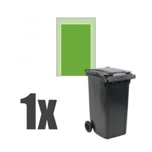 Kliko ombouw 1 container