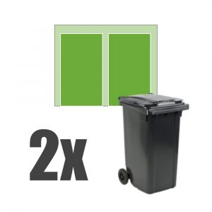 Kliko ombouw 2 containers