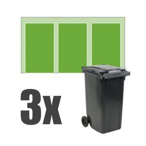 Kliko ombouw 3 containers