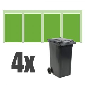 Kliko ombouw 4 containers